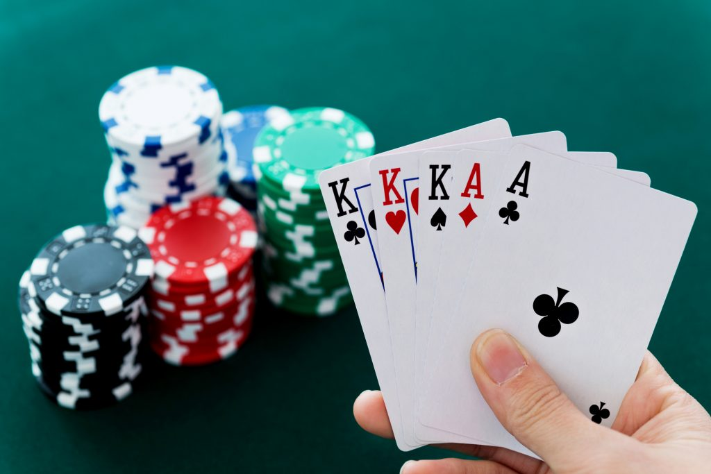 Casino games are games that are played in a casino setting.